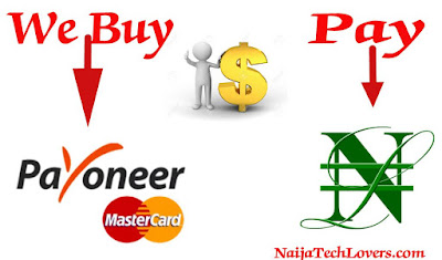 Payoneer to naira exchanger