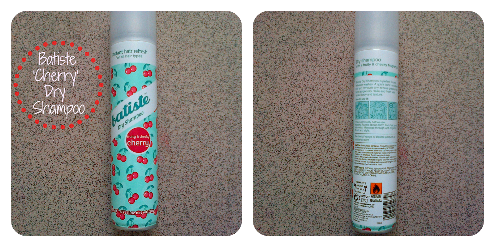 Batiste Fruity and Cheeky Cherry Dry Shampoo