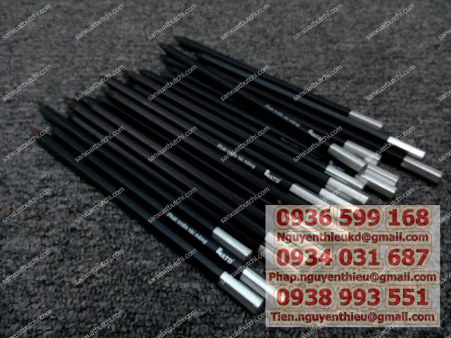 Nhận sản xuất bút chì quà tặng quảng cáo,   Nhận làm bút chì khuyến mãi sản phẩm Nhận in ấn bút chì