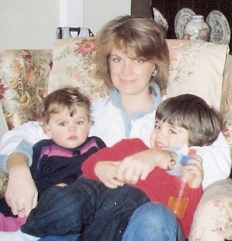 Susie, my brother Yiannis & me