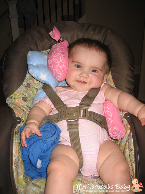 My Torticollis Baby Snuggin Go Amp Torticollis Support Kit