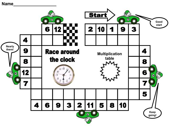 Number Names Worksheets beginning multiplication games : Multiplication Tables Made Fun – Excel Math