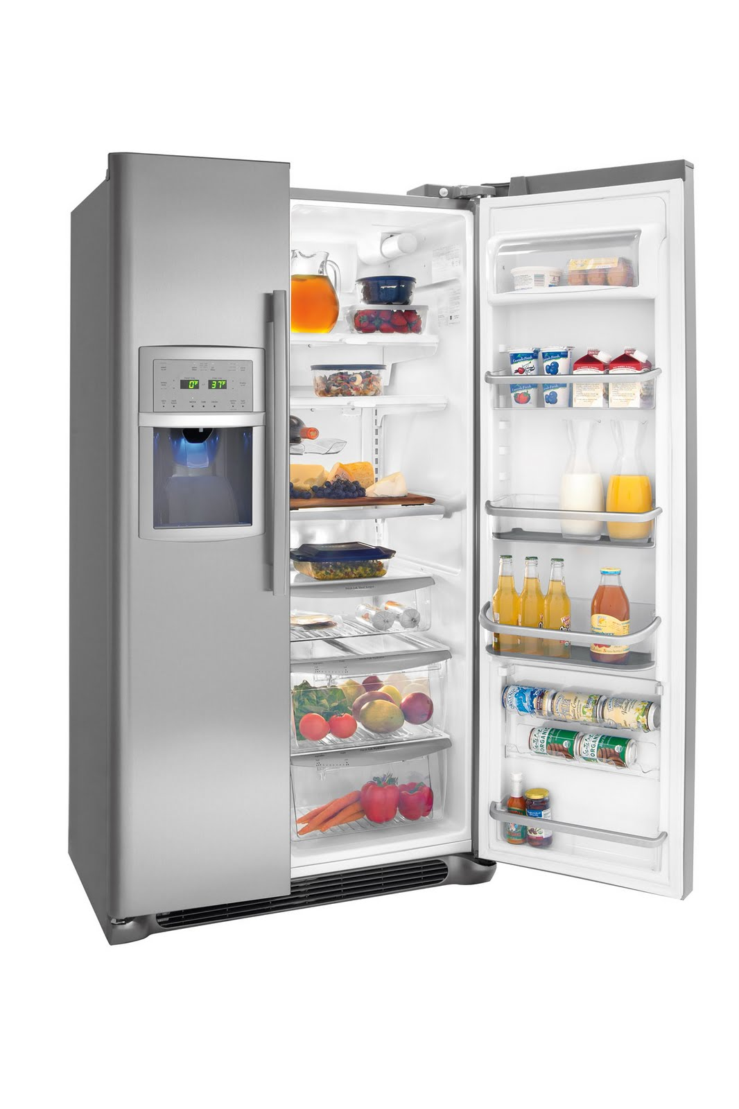 Frigidaire Side By Side Counter Depth Refrigerator skepseissss: Determining Top 10 Refrigerators: Whirlpool ...