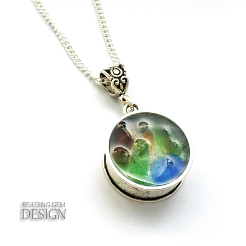 How to make a see through sea glass necklace some photography but photographing the necklace either hung or upright does make the sea glass look transluscent and better aloadofball Images