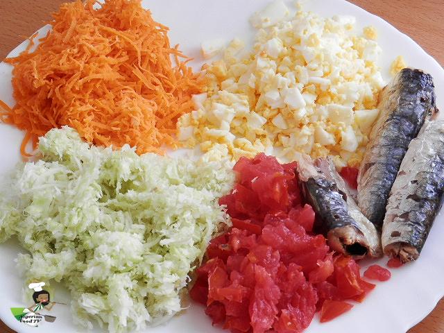 Nigerian Salad Sandwich, Nigerian Sandwich, nigerian food tv recipes