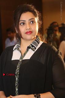 Tamil Actress Meena Latest Stills in Black Dress at TSR TV9 Awards Press Meet  0037.JPG