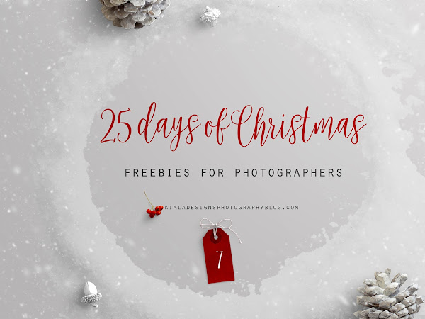 25 Day fo Christmas Freebies for Photographers - Day 7th