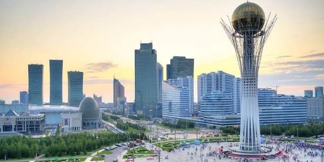 Image Attribute: Bayterek is a monument and observation tower in Astana, the capital city of Kazakhstan./ Source: Wikimedia Commons