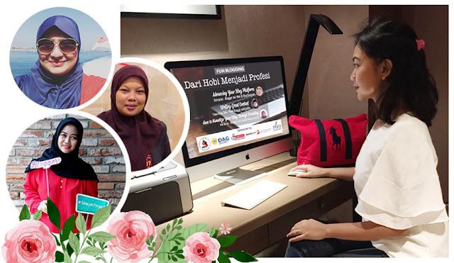 Fun Blogging 8 Dari Hobi Jadi Profesi