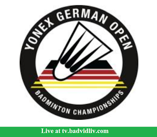 Yonex German Open 2018 live streaming