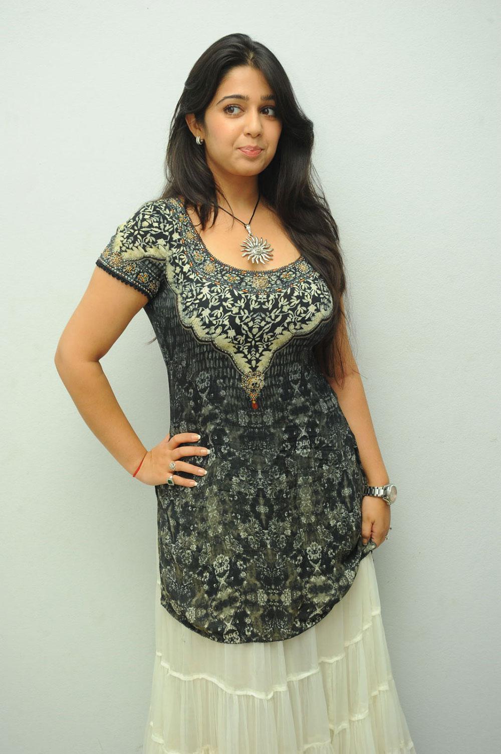 Charmi kaur big fair  gorgeous girl at prema oka maikam audio launch