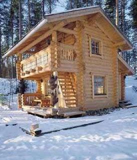แบบบ้านล็อกเคบิน