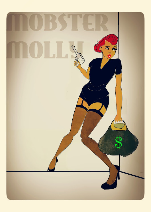 Finished Art This Week: Mobster Molly