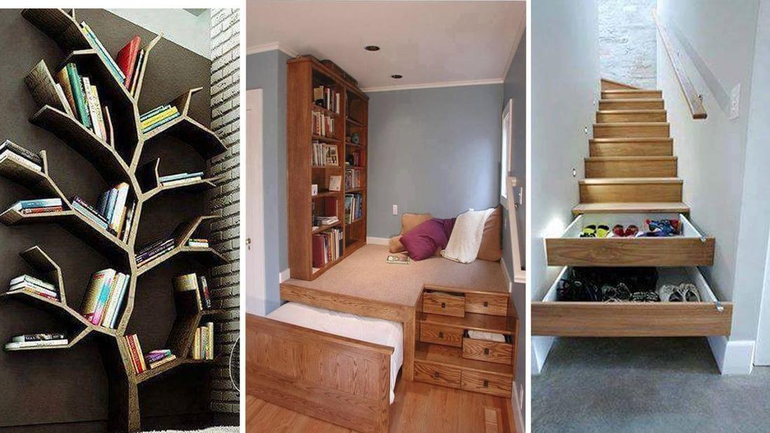 Trucos para ahorrar espacio en tu casa mi mundo verde - Trucos de casa ...