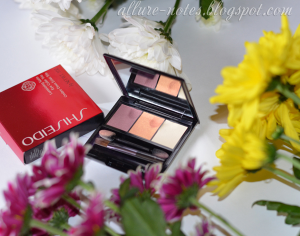 отзыв тени Shiseido Luminising Satin Eye Color Trio RD 299 Beach Grass