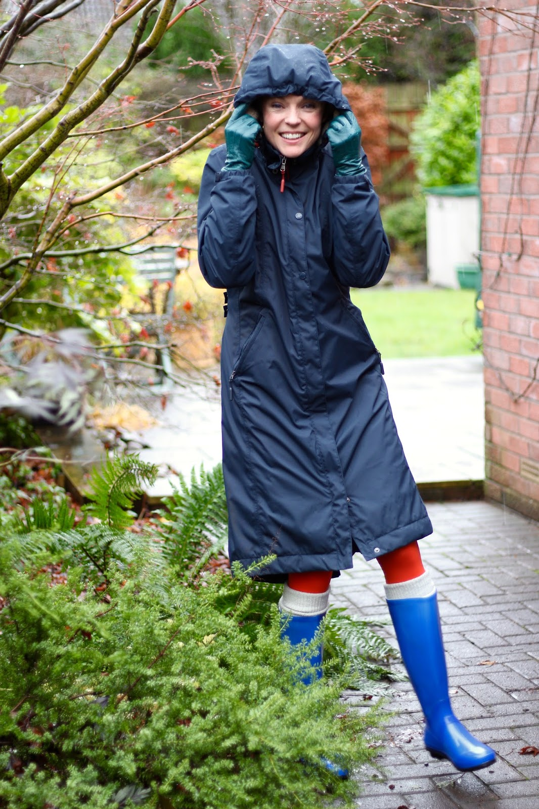 Welly weather! | Fake Fabulous