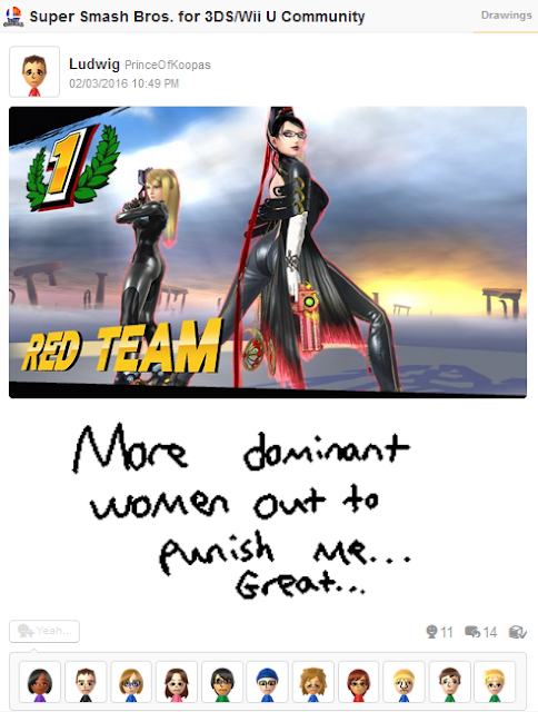 Bayonetta Zero Suit Samus dominatrix Super Smash Bros. dominant whip
