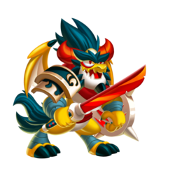 Dragão Kitsune (Jovem)
