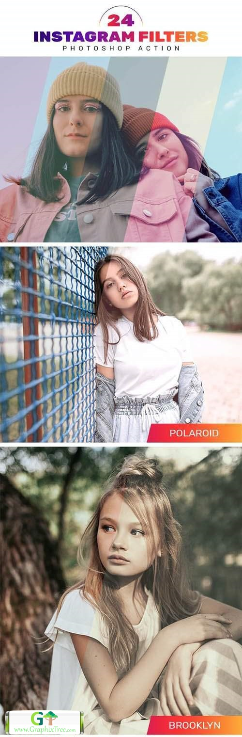 24 Instagram Filters Photoshop Actions 27751421