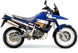 1991 DR800S blue 250 - Suzuki DR800S - a maior monicilindrica do mundo!
