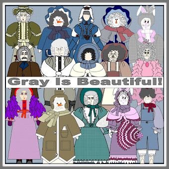 "Welcome to our ""Gray is Beautiful"" Blog. We hope you enjoy your visit."