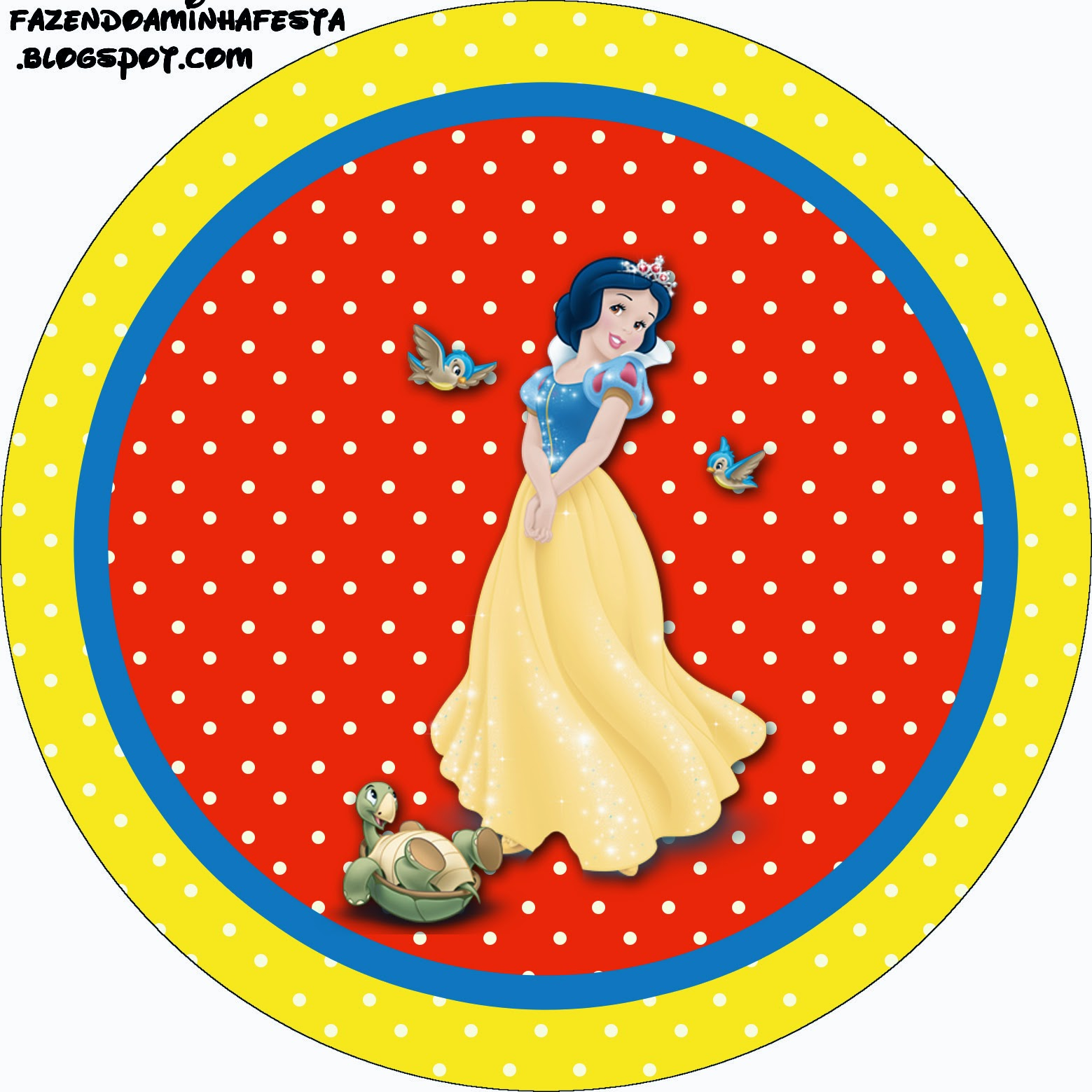 Snow White Free Printable Candy Bar Labels