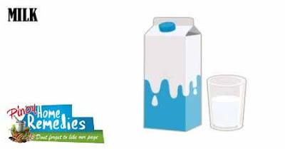 Home Remedies For Dark Underarms: Milk