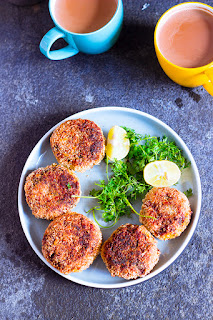 vegan pan fried turnip chops