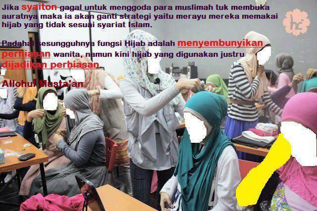 Calon Bidadari Surga Tapi Sayang Banyak Muslimah Membawa Dosa di Kepalanya