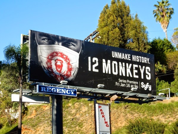 12 Monkeys Syfy remake billboard