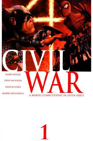 Download Marvel Civil War #1 PDF eBook' border=