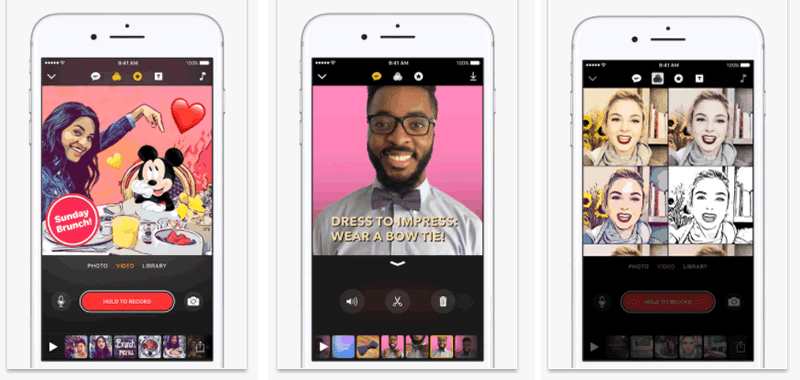 Clips lets you make and share fun social videos