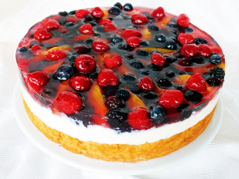 gyümölcs torta képek Napfény és Fűszer: Túrókrémes gyümölcstorta gyümölcs torta képek