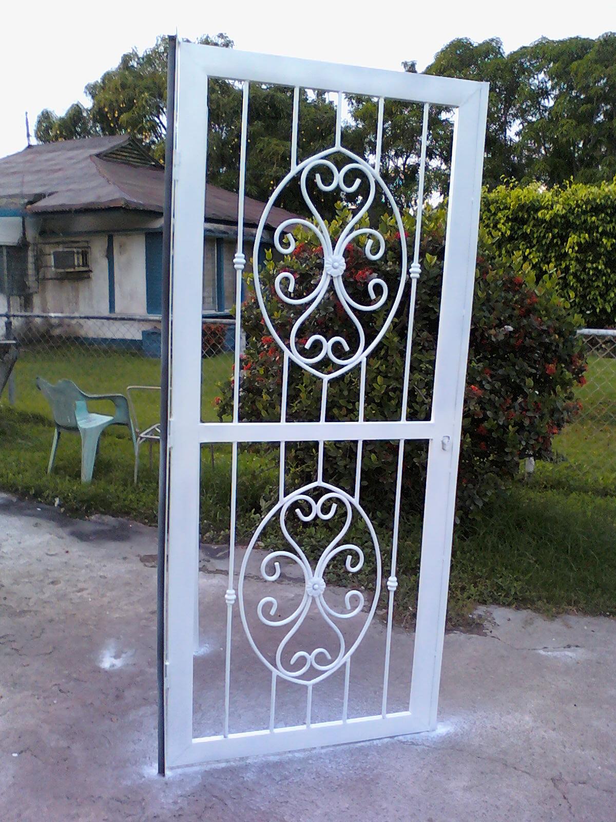 Ideas en hierro forjado rejas y puertas - Verjas para puertas ...
