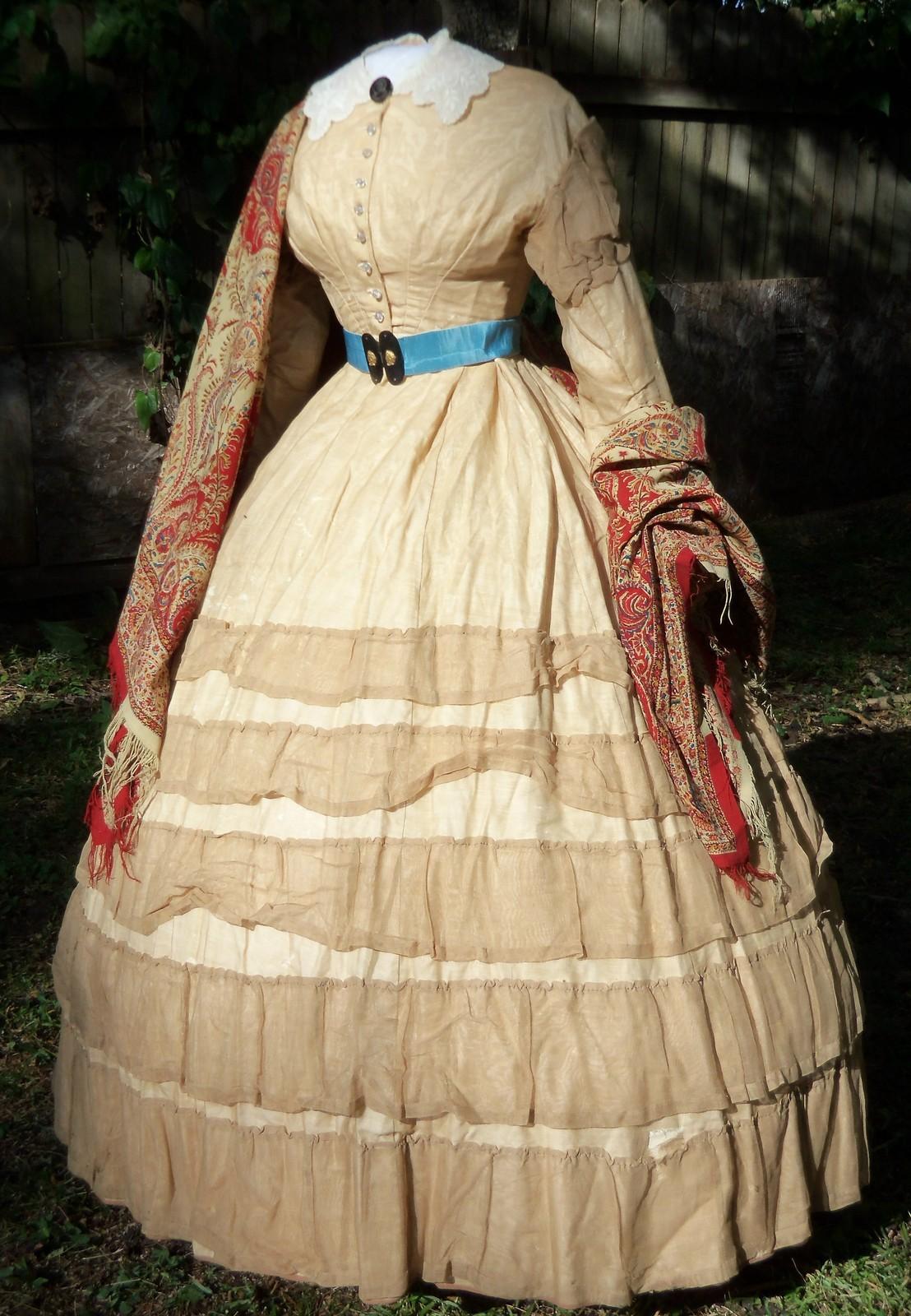 All The Pretty Dresses American Civil War Era Dress