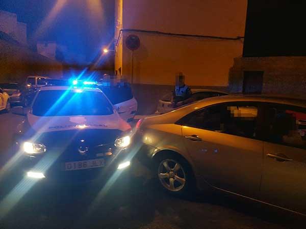 Persecución a conductor ebrio con tres menores en el interior del coche, Las Palmas de Gran Canaria