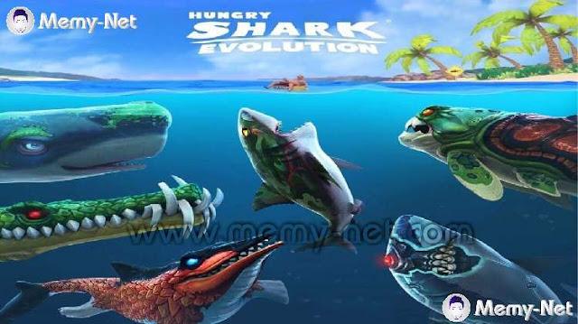 تحميل لعبة القرش الجائع مهكرة نقود وجواهر