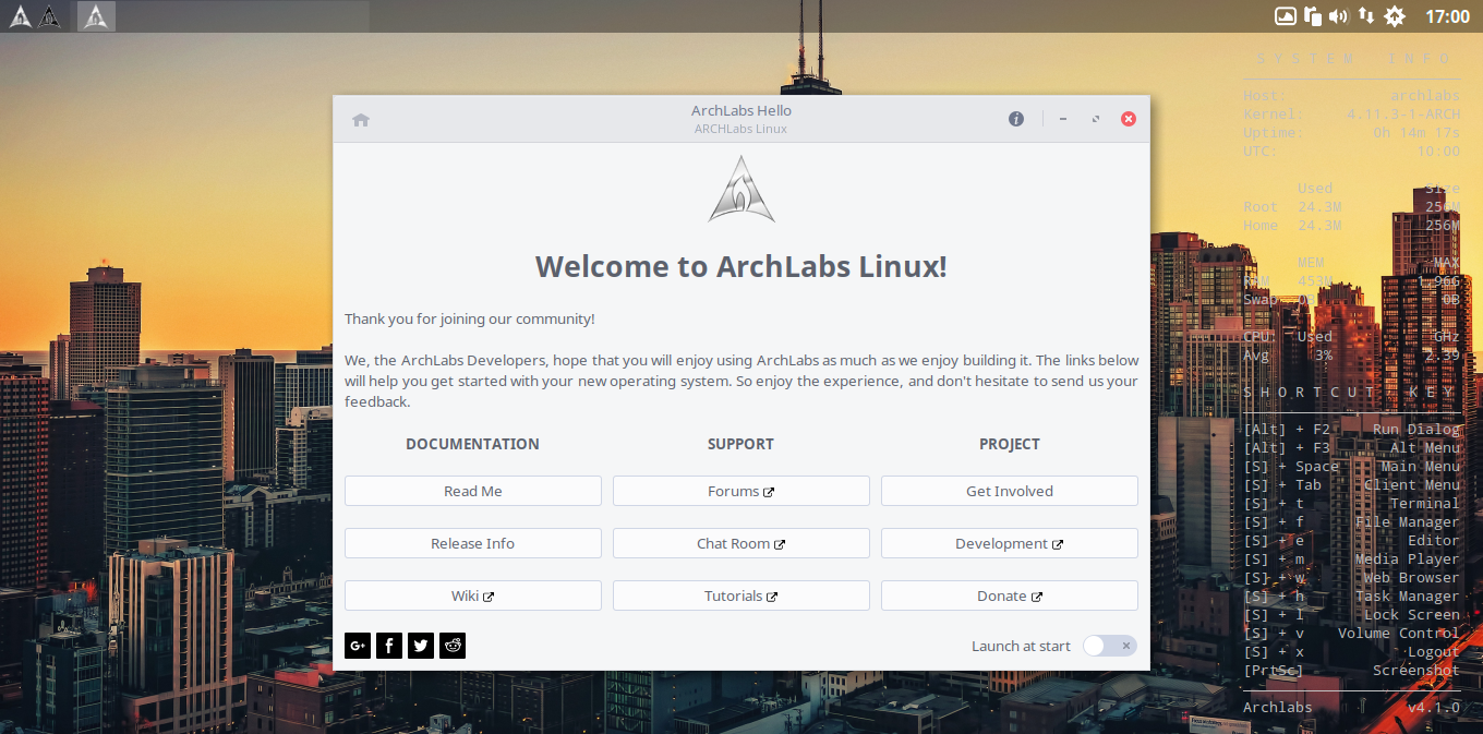 ArchLabs 4 1, Arch based Linux distribution that ROCKS