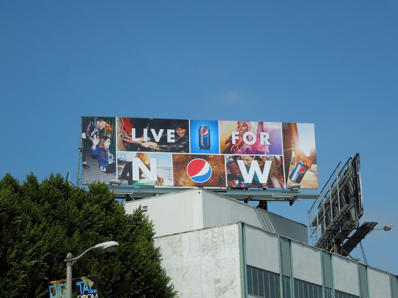 Nicki Minaj Pepsi Live For Now billboard