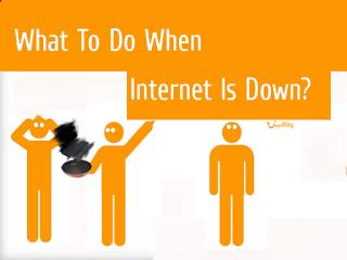 Trik Mengakali Internet Mati