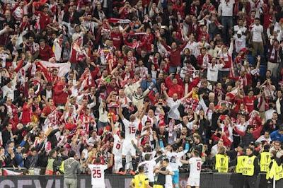 números del Sevilla FC en la temporada 15/16