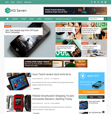 Sora Seven Blogger Template 2016 Best Downloaded , Sora Seven clean Blogger Template • Blogspot Templates , Sora Seven , Sora Seven Blogger Template | High Quality Free Blogger template ,