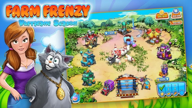 Farm Frenzy Hurricane Season Game