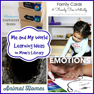 Me and My World Learning Ideas on Mom's Library