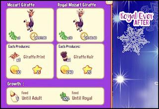Mozart Giraffe from Royal story