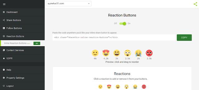 Cara Memasang Tombol React Rating Emoji pada Artikel Blog