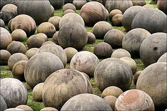 Esferas de Pedra Extraterrestres da Costa Rica
