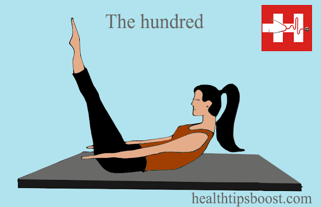 the hundred exercise in the health tips boost website