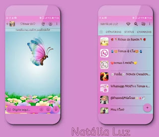 Butterfly Theme For YOWhatsApp & Fouad WhatsApp By Naty