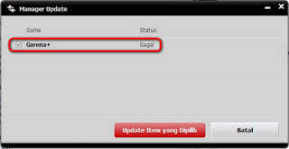 Cara Mengatasi Gagal Update Garena Messenger Plus